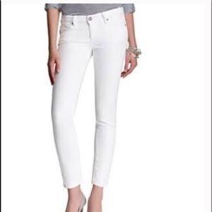 Paige jeans-white Roxie Crop